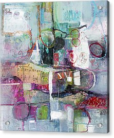 Art And Music Acrylic Print by Michelle Abrams