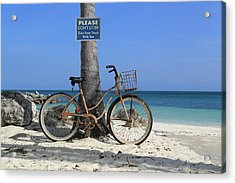 Art Bike Acrylic Print