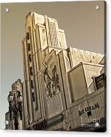 Art Deco Building Acrylic Print by Gregory Dyer