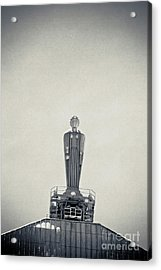 Art Deco Ceres Statue At The Board Of Trade Acrylic Print