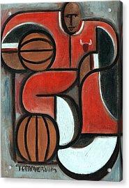 Art Deco Michael Jordan Art Print Acrylic Print