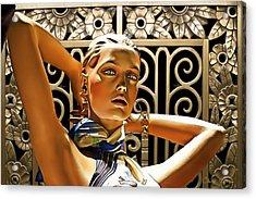 Art Deco - Swimsuit Acrylic Print