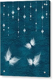 Art En Blanc - S03a Acrylic Print by Variance Collections