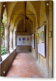 Art Gallery In A Monastery Acrylic Print