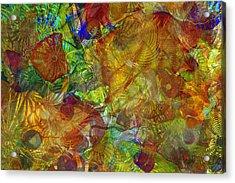 Art Glass Overlay Acrylic Print
