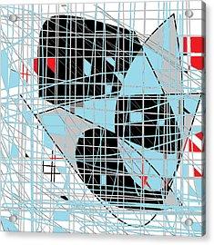 Art Grid Acrylic Print by Shesh Tantry