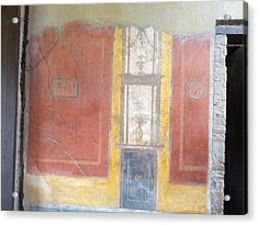 Art In Pompeii Home II Acrylic Print by Shesh Tantry