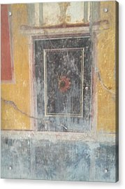 Art In Pompeii Home Acrylic Print by Shesh Tantry