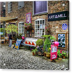 Art In The Mill Acrylic Print by Doc Braham