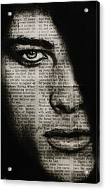 Art In The News 7 Acrylic Print