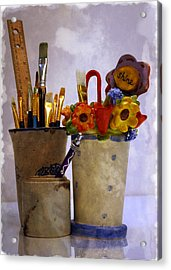 Art Is Good For The Soul Acrylic Print