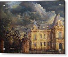 Art Museum Of Craiova Acrylic Print by Dan Scurtu