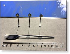 Art Of Catering Acrylic Print by David Bearden