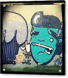 Art Of Kiwie Art #graffiti Acrylic Print