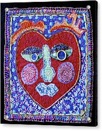 Art Of Love Acrylic Print by Susan Sorrell