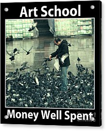 Art School Acrylic Print by John Rizzuto