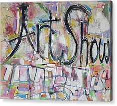 Art Show Acrylic Print by Hari Thomas