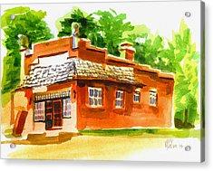 Art Studio Acrylic Print by Kip DeVore