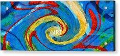 Art Swirl Acrylic Print by Dan Sproul