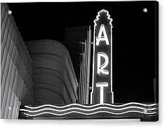 Art Theatre Long Beach Denise Dube Acrylic Print