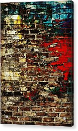 Art Wall Acrylic Print by Chastity Hoff