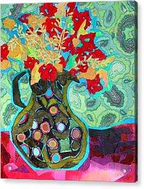 Artful Jug Acrylic Print by Diane Fine
