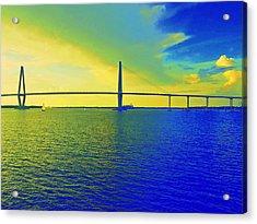Arthur Ravenel Bridge 19 Acrylic Print