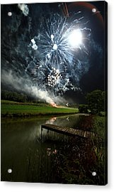 Artificial Illumination Acrylic Print by Cody Arnold