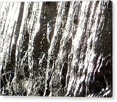 Artificial Waterfall Acrylic Print by Marc Philippe Joly
