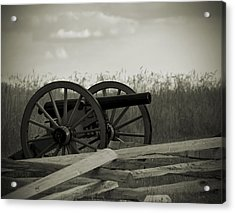Artillery At Mcpherson Ridge Acrylic Print