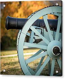 Artillery Acrylic Print by James Barber