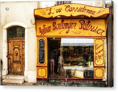 Artisan Boulanger In Cassis Acrylic Print
