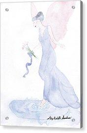Artist Angel Acrylic Print