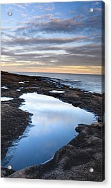 Artist Point Reflection Pool Acrylic Print by Thomas Pettengill