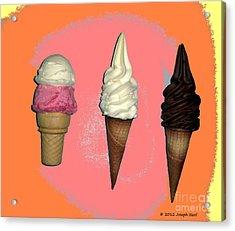 Artistic Ice Cream Acrylic Print