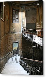 Artistic Staircase In Tbilisi Acrylic Print