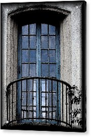 Artistic Window Acrylic Print