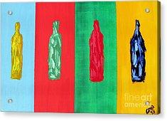Artists Delight Acrylic Print by Greg Mason Burns