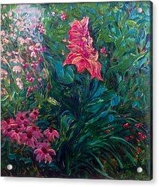The Artist's Garden In Spring II Acrylic Print