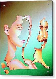Artist's Impression Of Sexual Identity Crisis Acrylic Print