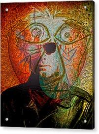 Artists Revenge  Acrylic Print by Empty Wall