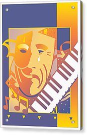 Arts And Music Acrylic Print