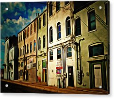 Arts In The Alley Acrylic Print