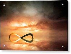 Artwork Of The Infinity Symbol Acrylic Print
