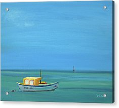 Acrylic Print featuring the painting Aruba by Donna Tuten