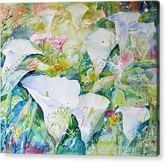 Arum Glade Acrylic Print