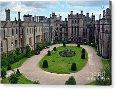 Arundel Castle Courtyard Acrylic Print
