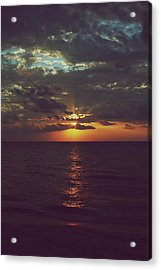 As Day Turns Into Night Acrylic Print by Laurie Search