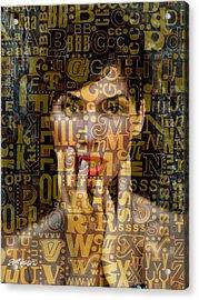 As Easy As A B C Acrylic Print by Seth Weaver