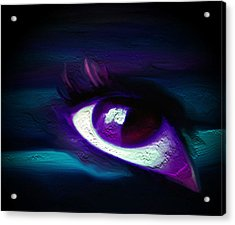 As Far As The Eye Can See Acrylic Print by Persephone Artworks